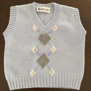 Baby Graziella Cashmere Vest Sz-12 mo NWT